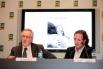 Xavier Trias (Alcalde de Barcelona) i David Escamilla. Presentació del llibre Paraules d,amor. Març 2012