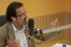 David Escamilla presentant el programa ''Club 21, el club de les ments inquietes''. Ràdio 4, RNE, Juny 2013