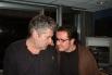 Entrevistant l'escriptor Quim Monzó a Catalunya Ràdio. Barcelona, 2004