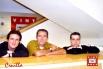 Equip del programa Cruïlla, Catalunya Cultura. David Escamilla, Claudi Puchades i José Maria Campillo (Barcelona, primavera 2003)