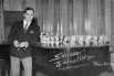 Salvador Escamilla, 13 gener 1964, Ràdio Barcelona (Cadena Ser) estrenant el seu programa Radioscope
